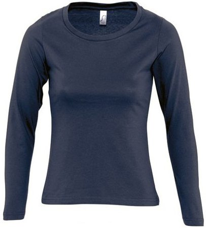 Picture of Women's Shirt MAJESTIC / Navy
