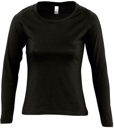 Picture of Women's Shirt MAJESTIC / Black