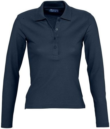 Picture of Women's Polo shirt PODIUM / Navy
