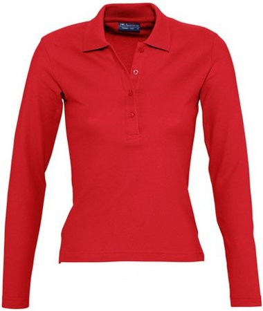 Picture of Women's Polo shirt PODIUM / Red