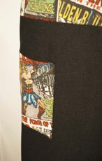 Picture of Bib Apron Barista with Cross backside / DC Comic