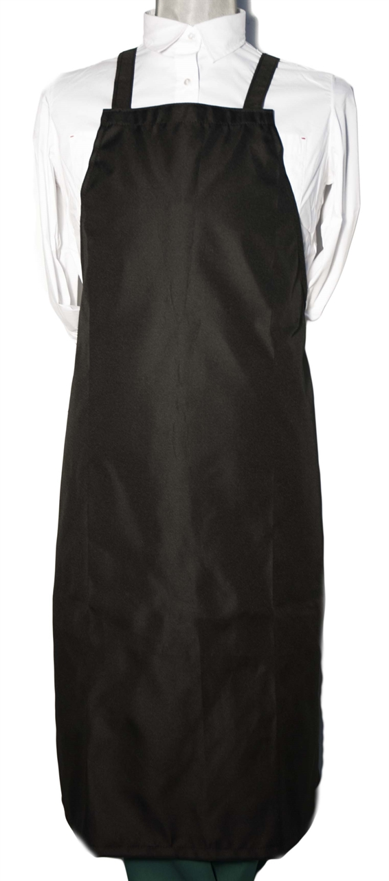 Picture of Bib Apron Waterproof with Cross backside