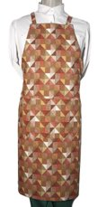 Picture of Bib Apron Barista with Cross backside / Triangles