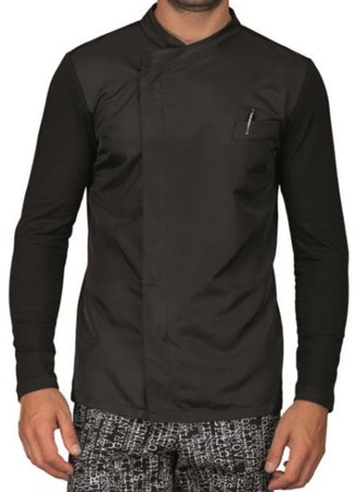 Picture of Σακάκι Σεφ Giacca Franklin Jersey Superdry 059131 / Μαύρο