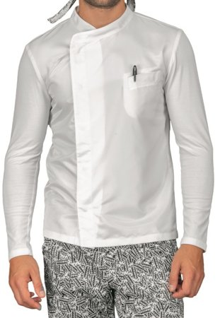 Picture of Σακάκι Σεφ Giacca Franklin Jersey Superdry 059130 / Λευκό