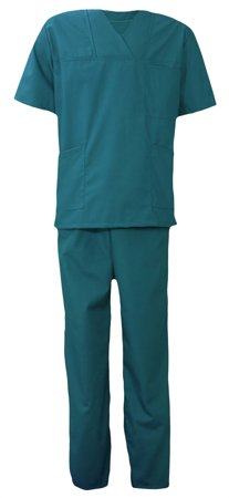 Picture of Men's Nursing Scrub Set Petrol