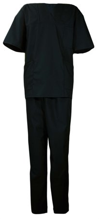 Picture of Nursing Scrub Set UNISEX / Black