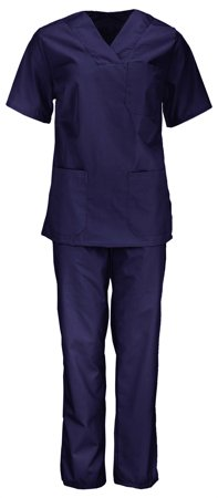 Picture of Women's Nursing Scrub Set/ Navy