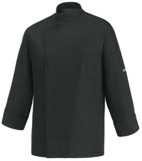 Picture of Chef Jacket Ottavio ML Tencel / Black