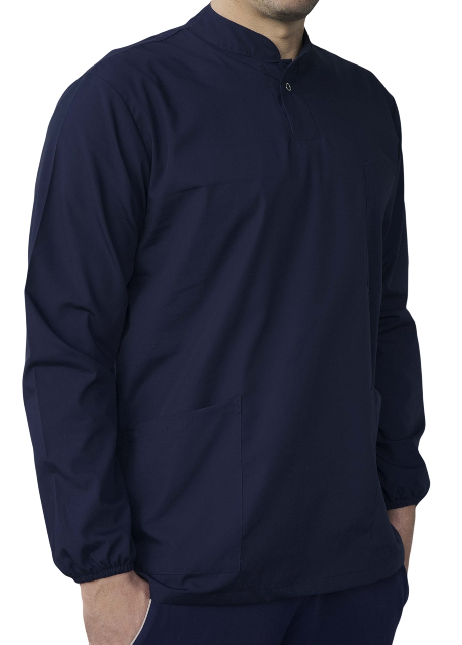Picture of Scrub Top Longsleeve EM Unisex / Navy