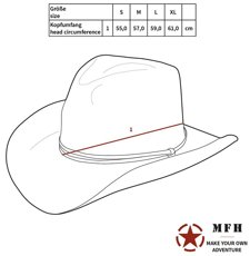 Picture of US Bush hat Rip Stop 10713Q / AT-Digital