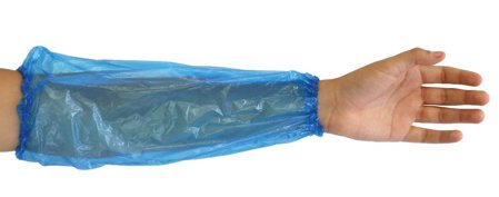 "Picture of Disposable Oversleeves Blue ""Eco"" 