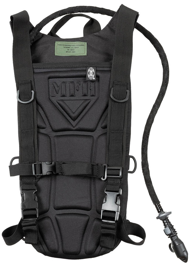 "Picture of Hydration Backpack, with TPU Bladder, ""Extreme"", 2,5l, 30554A / Black"