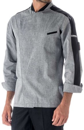 Picture of Chef Jacket Henry grey