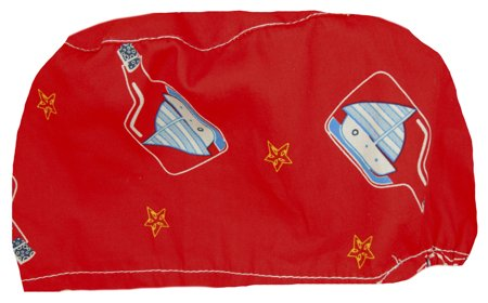 Picture of Surgical Cap Boats in a bottle / Red