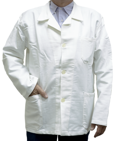 Picture of Men's Work Coat EM / White