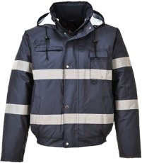 Picture of Iona light Bomber Jacket S434 / Navy blue