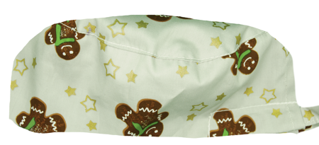Picture of Men's Surgical Cap Christmas