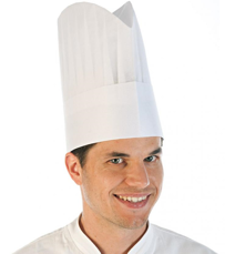 "Picture of Paper Chef's hat ""Excellent Black Style"" 