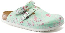 Picture of Clogs Kay SL Flower Mint Soft leather