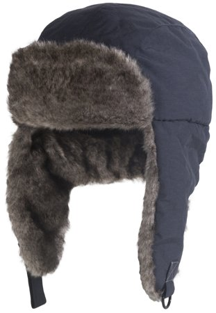 Picture of Safety Bump Cap Chapka with fur / Navy