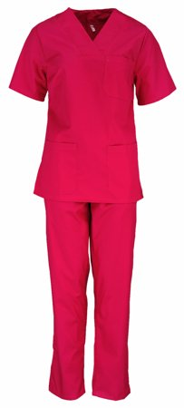 Picture of Women's Nursing Scrub Set - Stretch / Fuxia