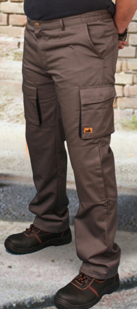 Picture of Work Trousers Starwork / Grey