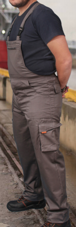 Picture of Dungarees Starwork / Grey