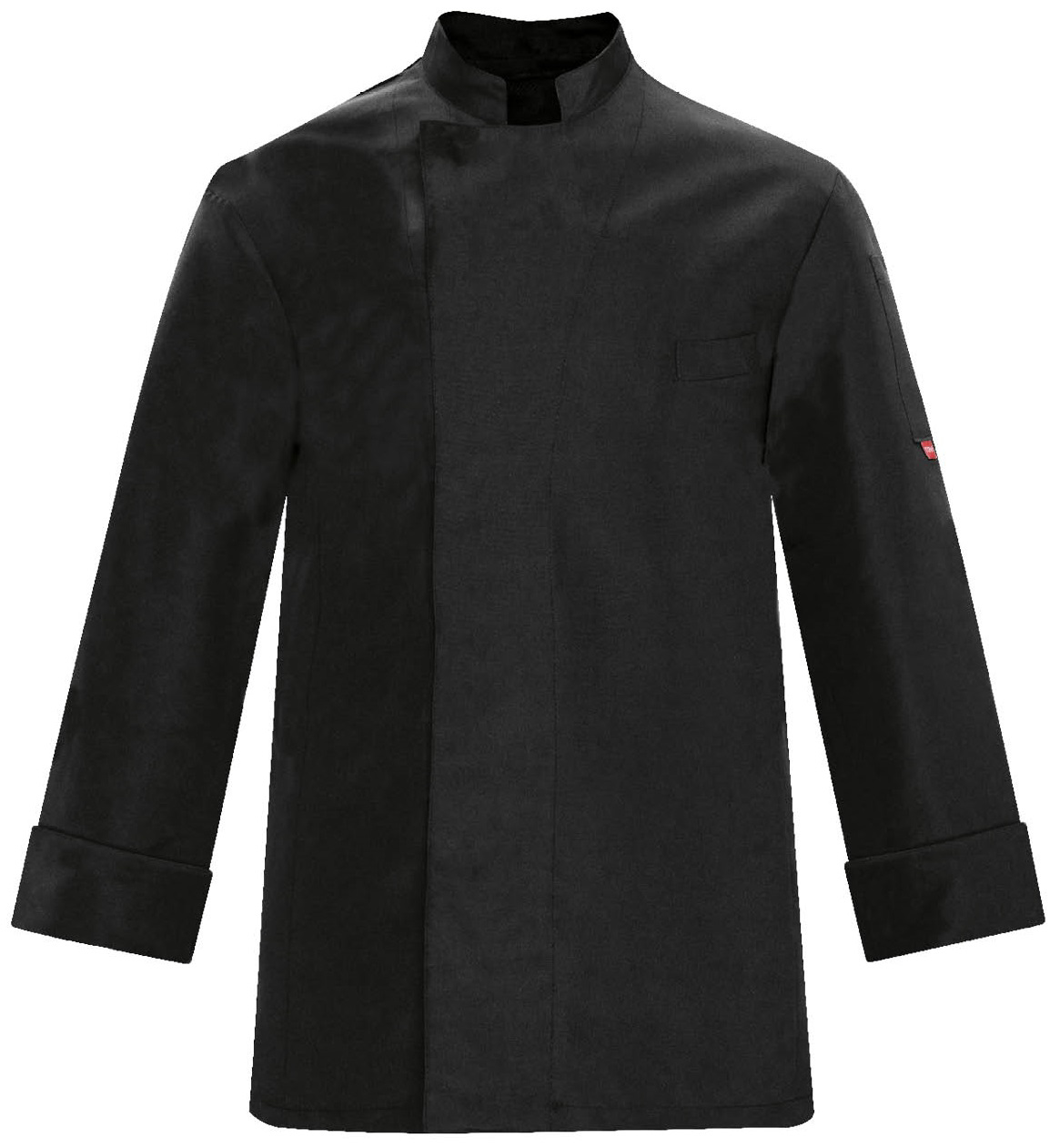 Picture of Chef Jacket Victor 100% Microfiber 1631 / Black