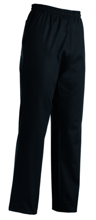 Picture of Trousers 100% Cotton City Chef / Black