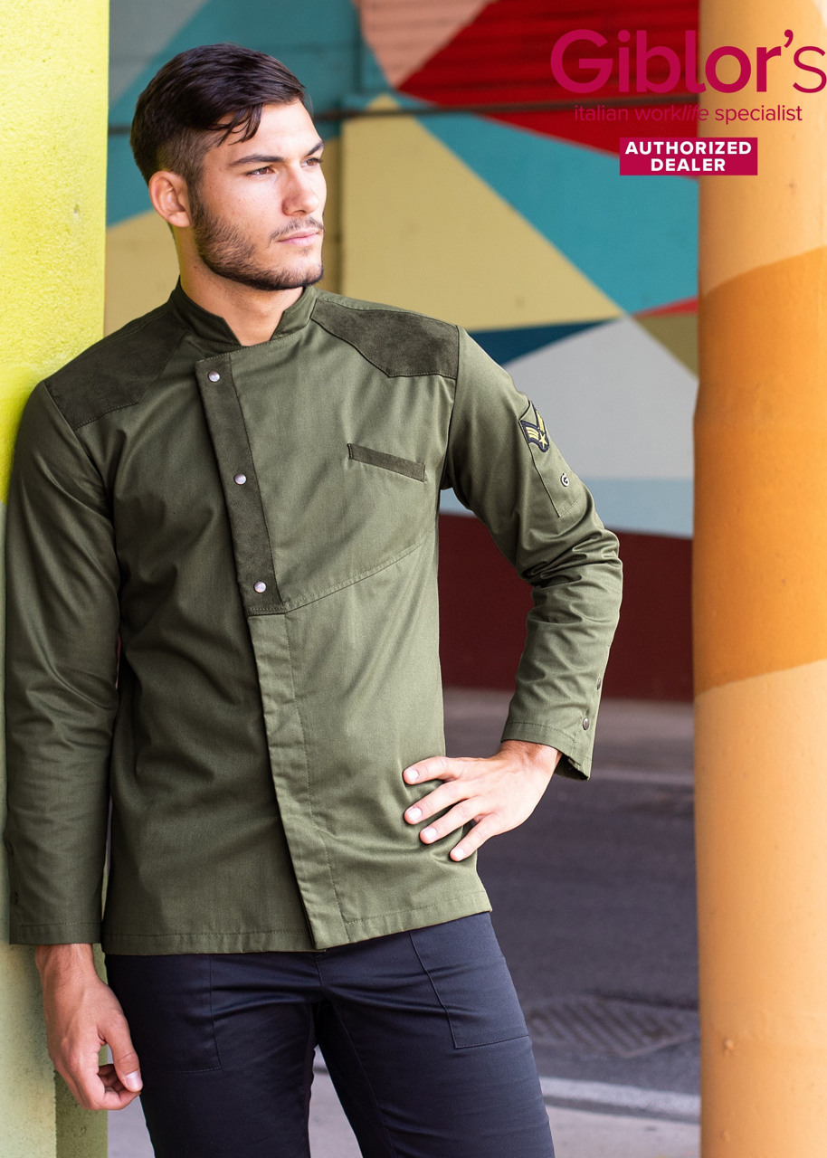 Picture of Chef's Jacket Goose / Olive Green