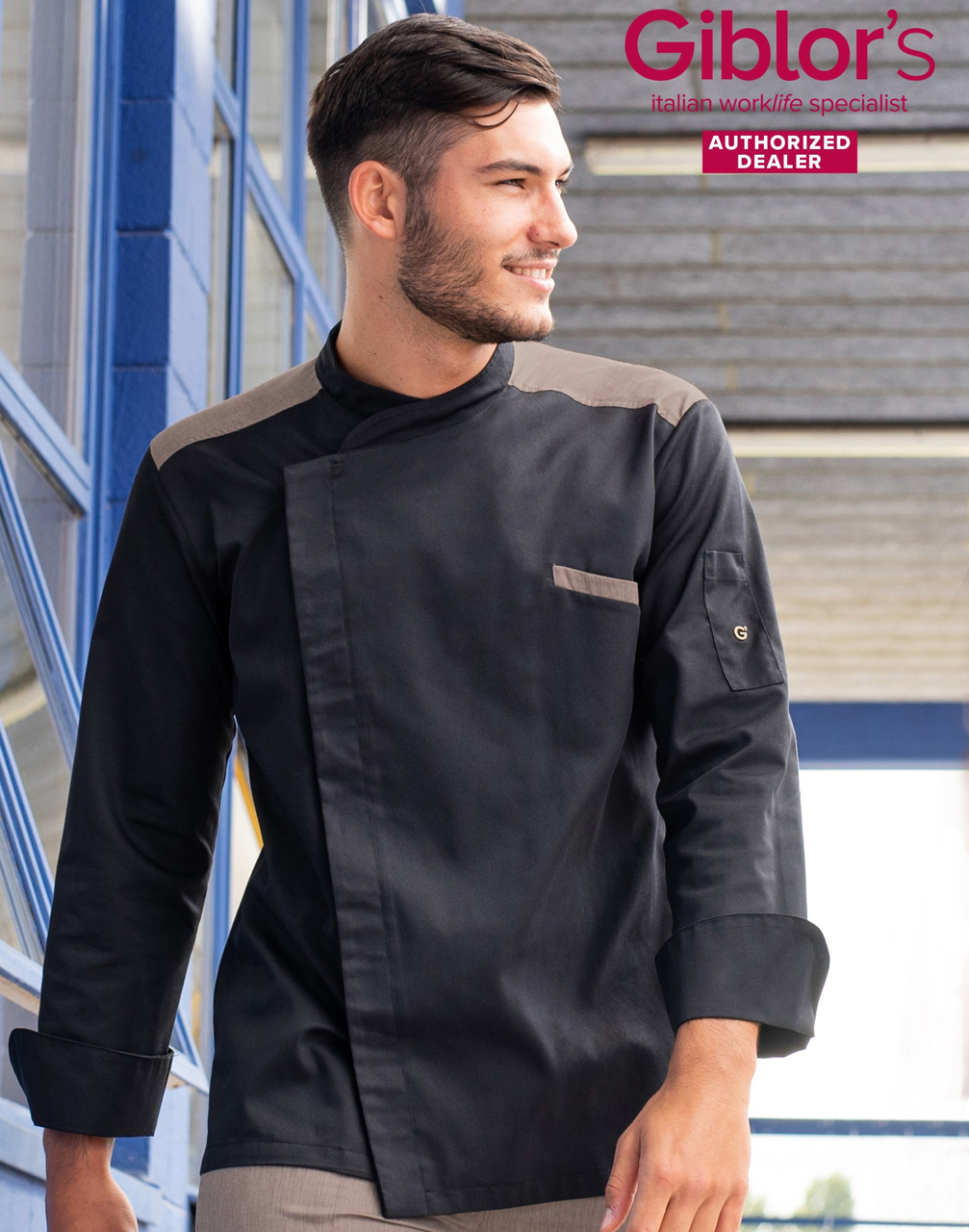 Picture of Chef's Jacket Vulcano / Black
