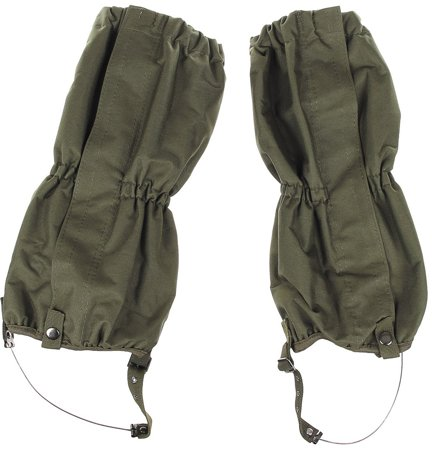 Picture of Gaiters with zip, steel wire  20123B / OD green